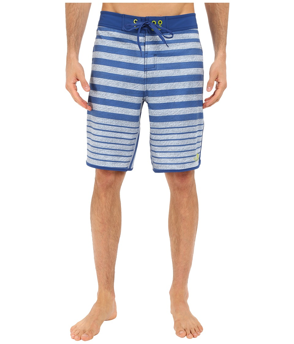The North Face Whitecap Boardshorts (Limoges Blue Chambray Stripe) Men