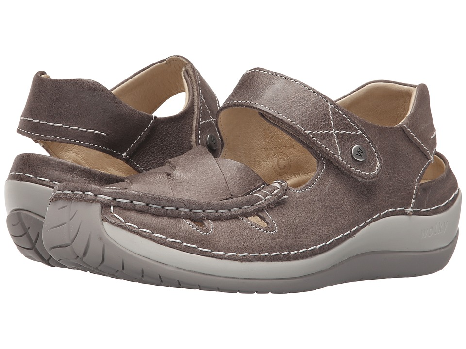 Wolky - Venture (Grey) Women's Sandals