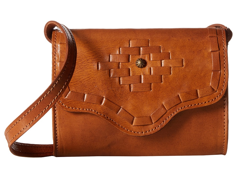 American West - Gameday Small Crossbody Bag (Amber Waves Golden Tan) Cross Body Handbags