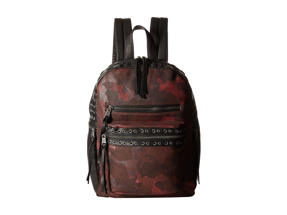 ASH - Billy Small Backpack (Bordeaux/Black) Backpack Bags