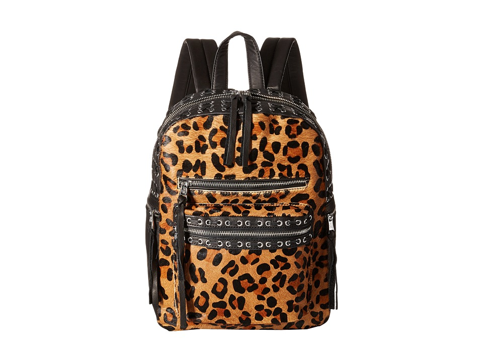 ASH - Billy Small Backpack (Leopard/Black) Backpack Bags