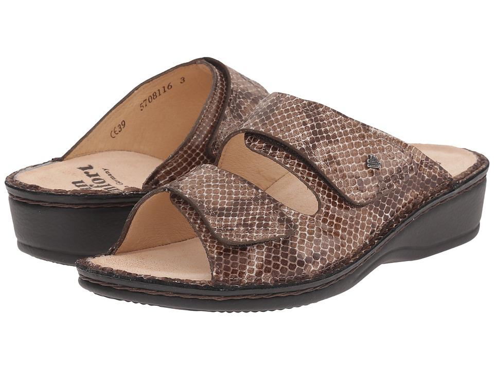 Finn Comfort - Jamaika (Cappuccino) Women's Slide Shoes