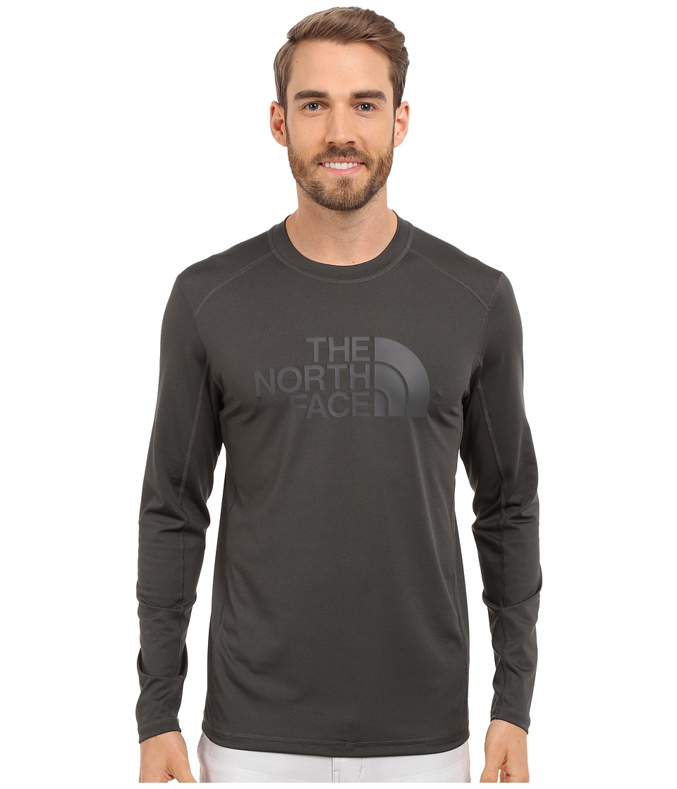 The North Face Long Sleeve Sink or Swim Rashguard (Asphalt Grey) Men