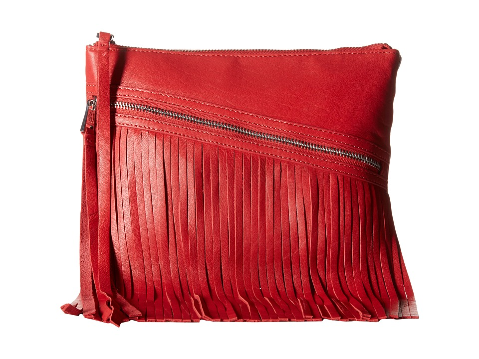 ASH - Nikki Clutch (Red) Clutch Handbags