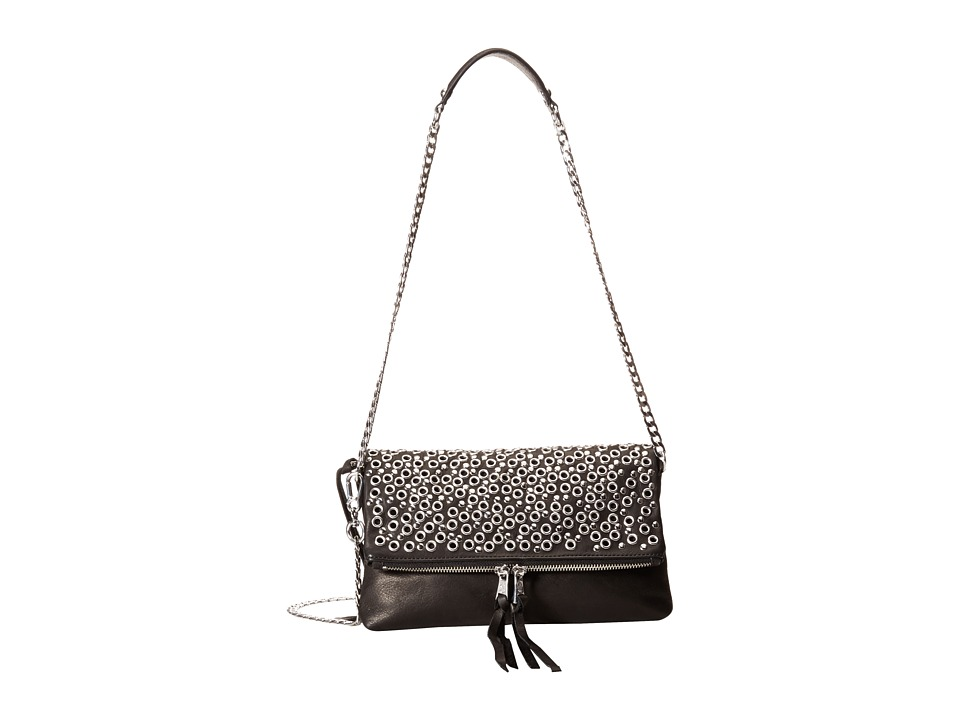 ASH - Ozzy Crossbody (Black) Cross Body Handbags