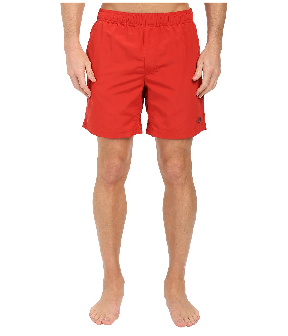 The North Face - Pull-On Guide Trunks (Pompeian Red) Men's Shorts