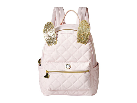 Betsey Johnson - Disco Bunny Backpack (Blush) Backpack Bags