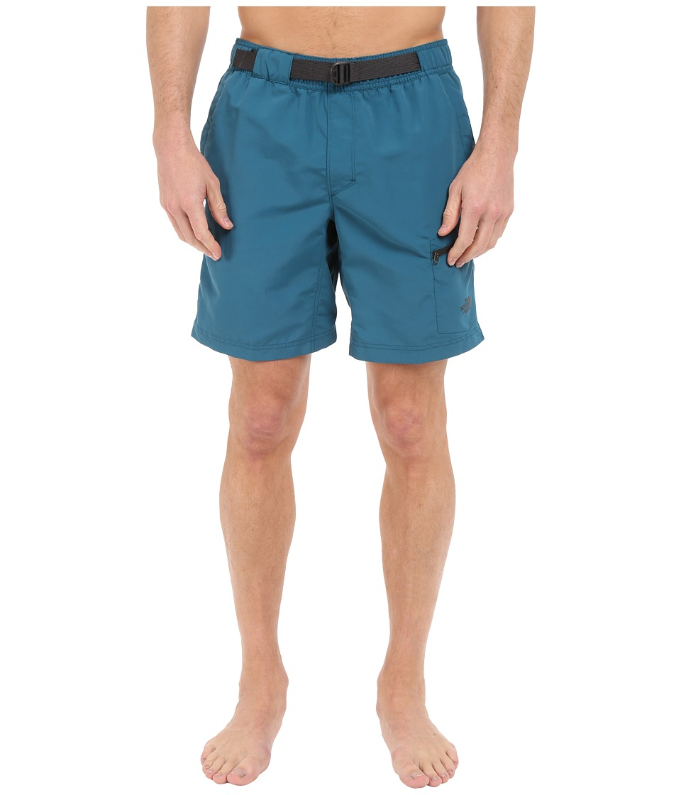 The North Face - Belted Guide Trunks (Blue Coral) Men's Shorts