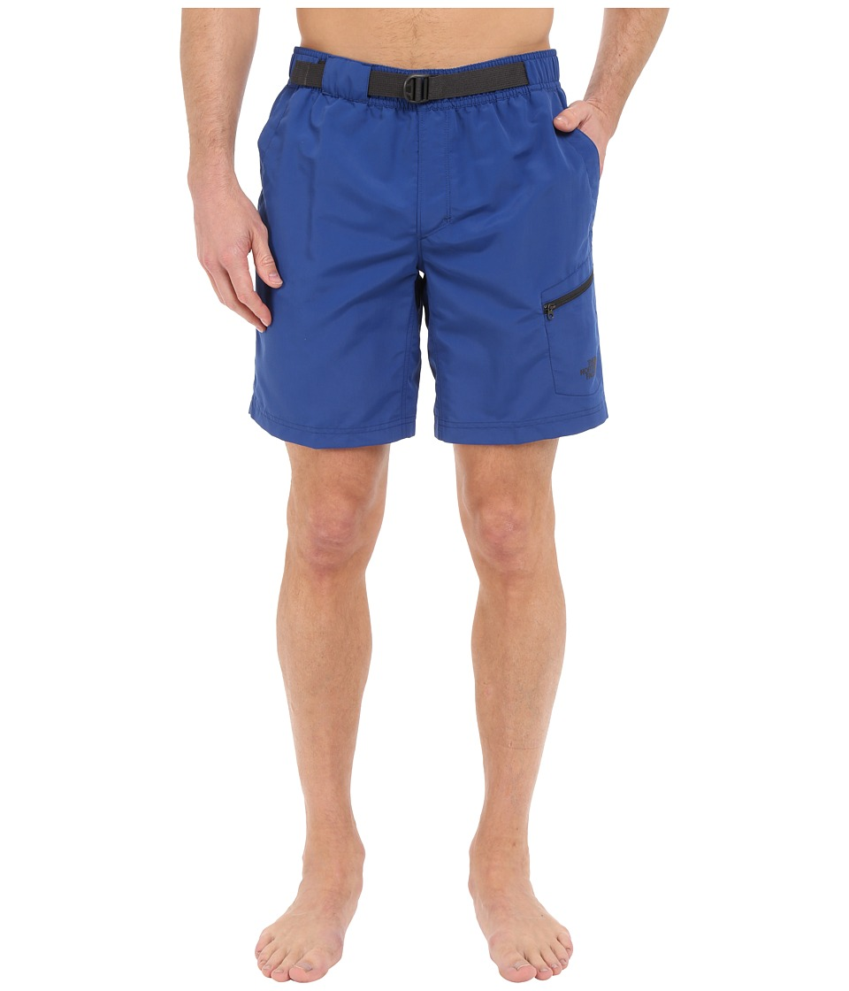 The North Face - Belted Guide Trunks (Limoges Blue) Men's Shorts