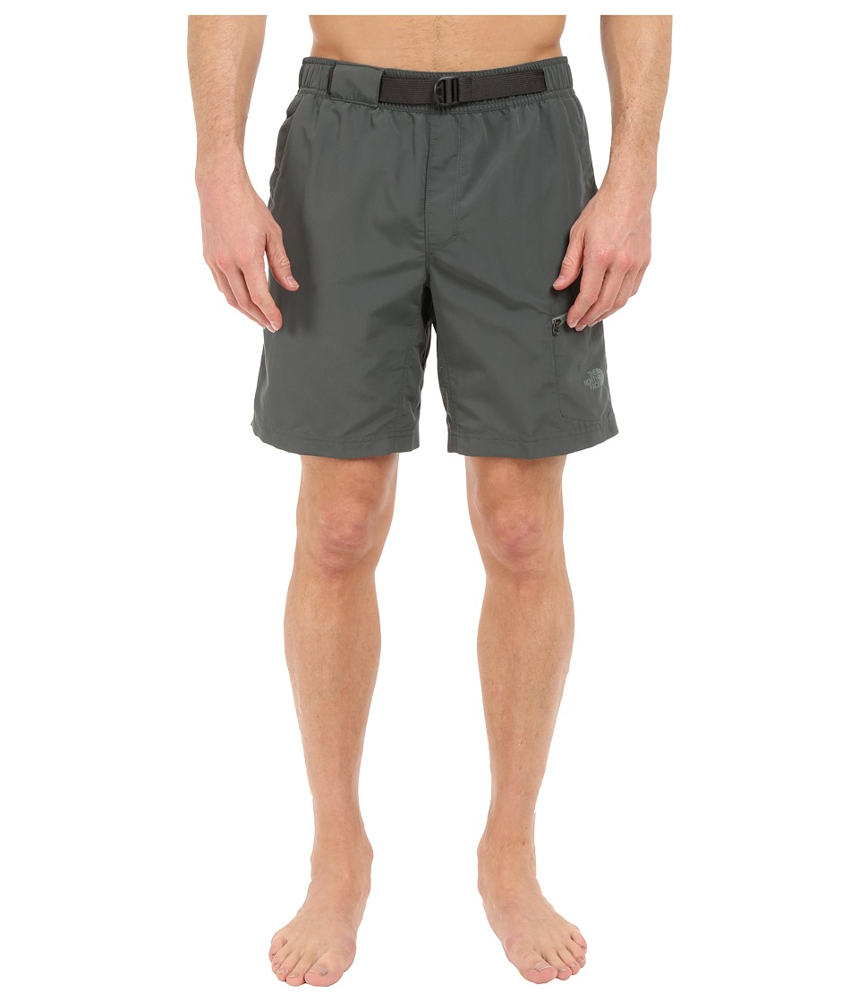 The North Face - Belted Guide Trunks (Spruce Green) Men's Shorts