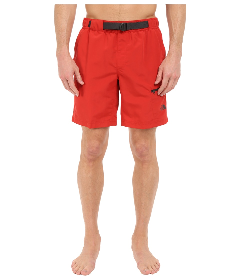 The North Face - Belted Guide Trunks (Pompeian Red) Men's Shorts