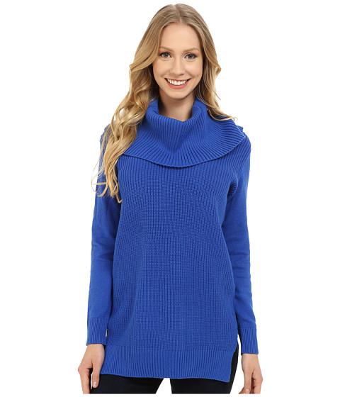 MICHAEL Michael Kors - Cowl Sweater (Amalfi Blue) Women's Sweater
