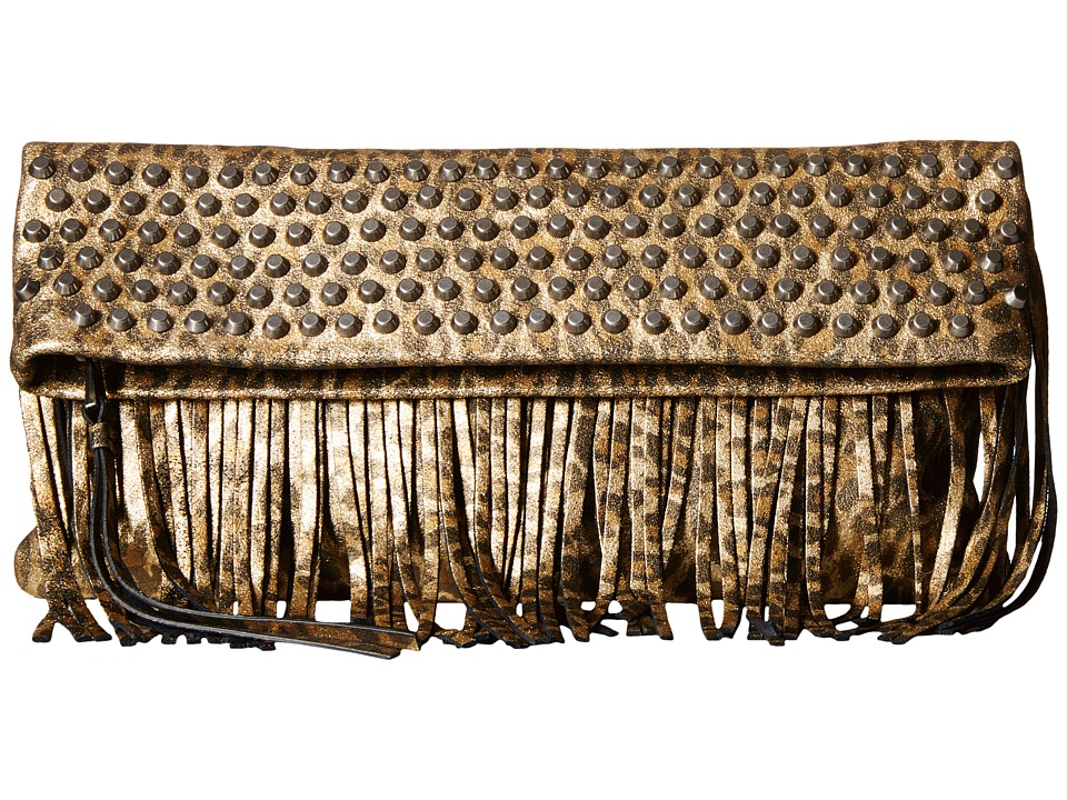 ASH - Hendrix Clutch (Gold) Clutch Handbags