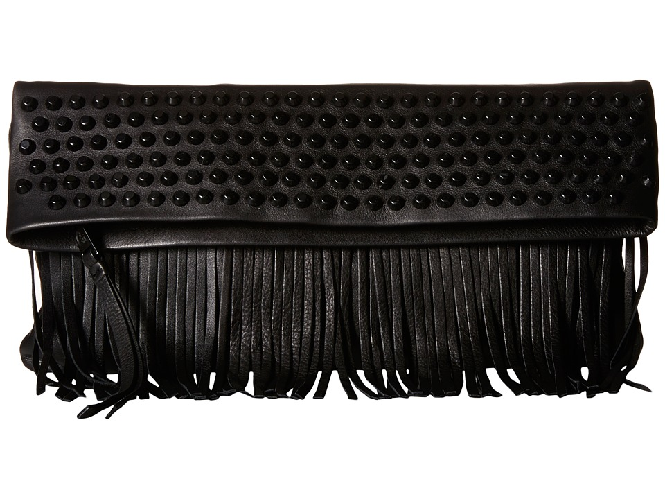 ASH - Hendrix Clutch (Black) Clutch Handbags