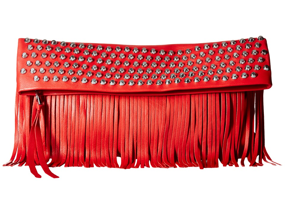 ASH - Hendrix Clutch (Red) Clutch Handbags