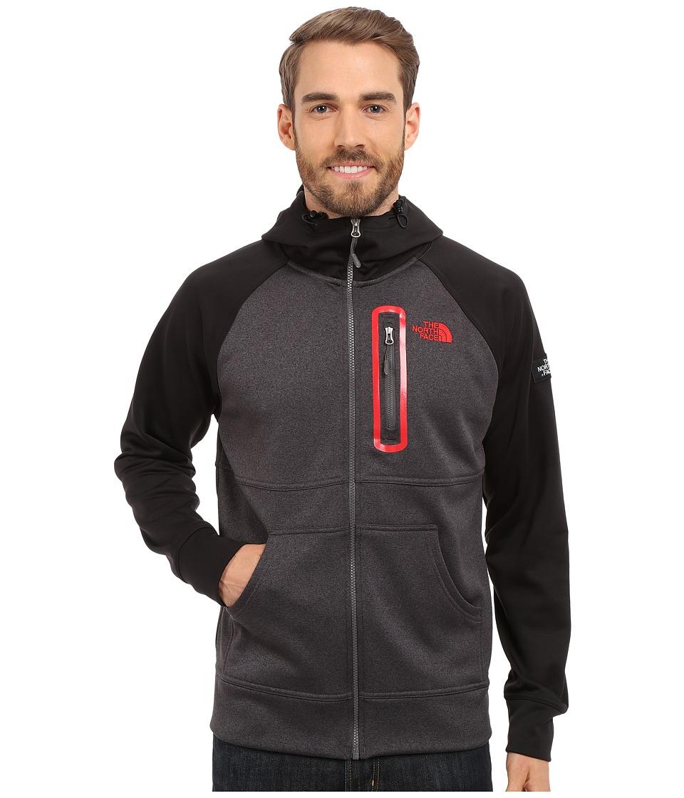 The North Face - Mack Mays Full Zip Hoodie (TNF Dark Grey Heather/TNF Black) Men's Sweatshirt
