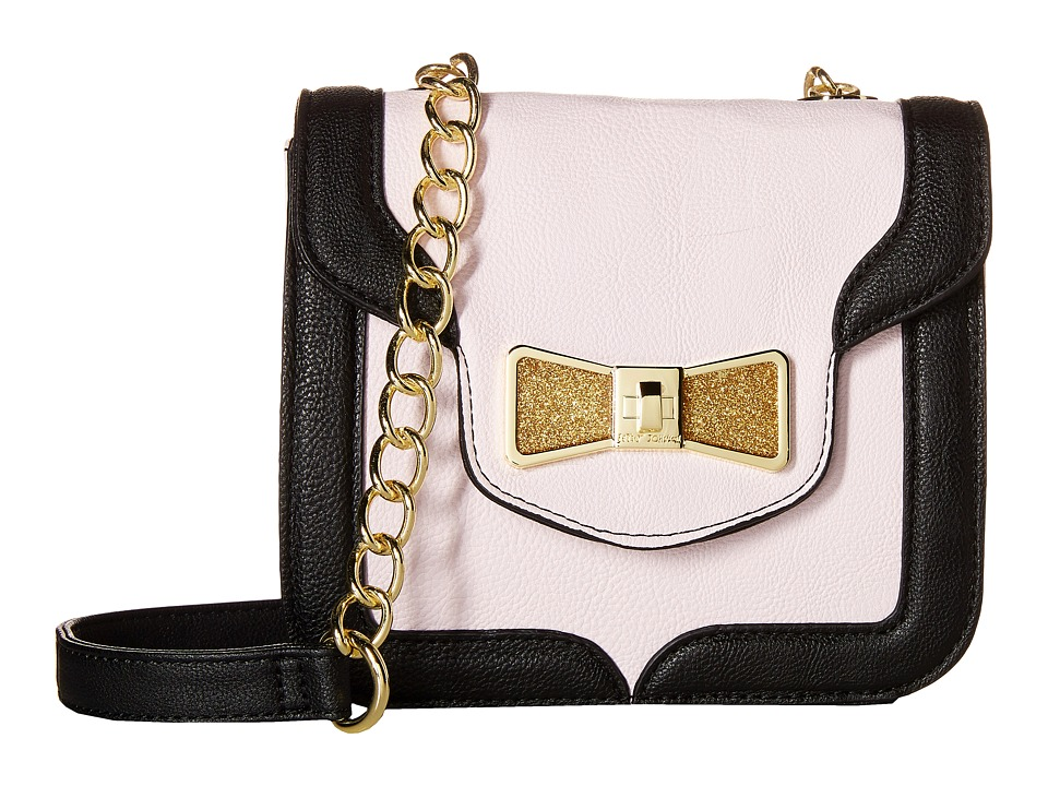 Betsey Johnson - Princess Sparkle Shoulder Bag (Blush) Cross Body Handbags