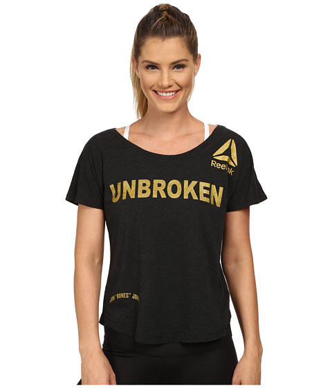 Reebok - UFC T-Shirt (Black) Women's T Shirt