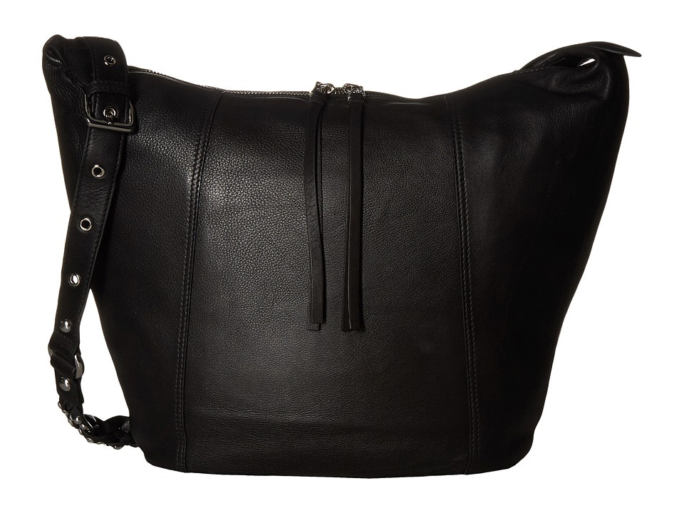 ASH - Janis Hobo (Black) Hobo Handbags