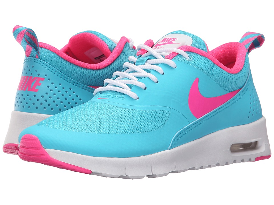 Nike Kids - Air Max Thea (Big Kid) (Gamma Blue/White/Pink Blast) Girls Shoes