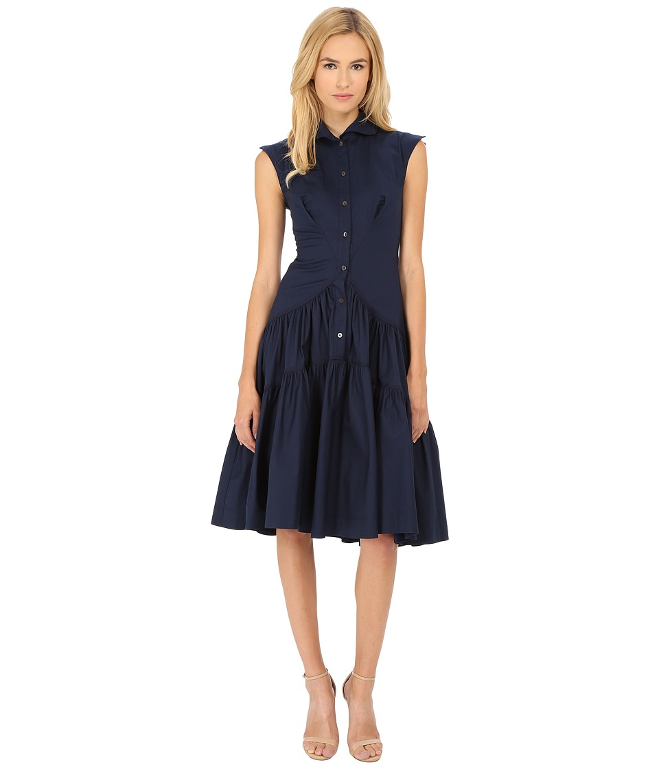 Zac Posen - 09-5825-49 (Navy) Women's Dress