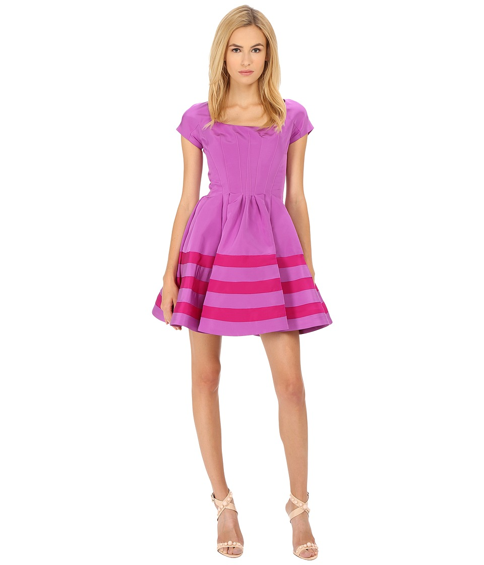Zac Posen - CCL01-5067-49 (Parme/Magenta) Women's Dress