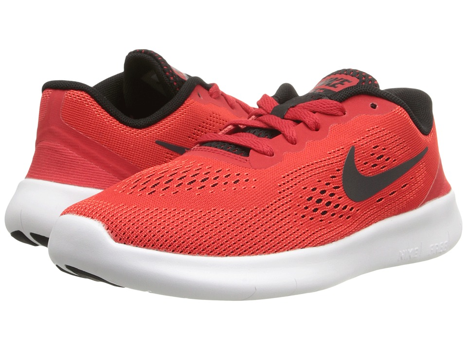 Nike Kids - Free RN (Little Kid) (University Red/White/Black) Boys Shoes