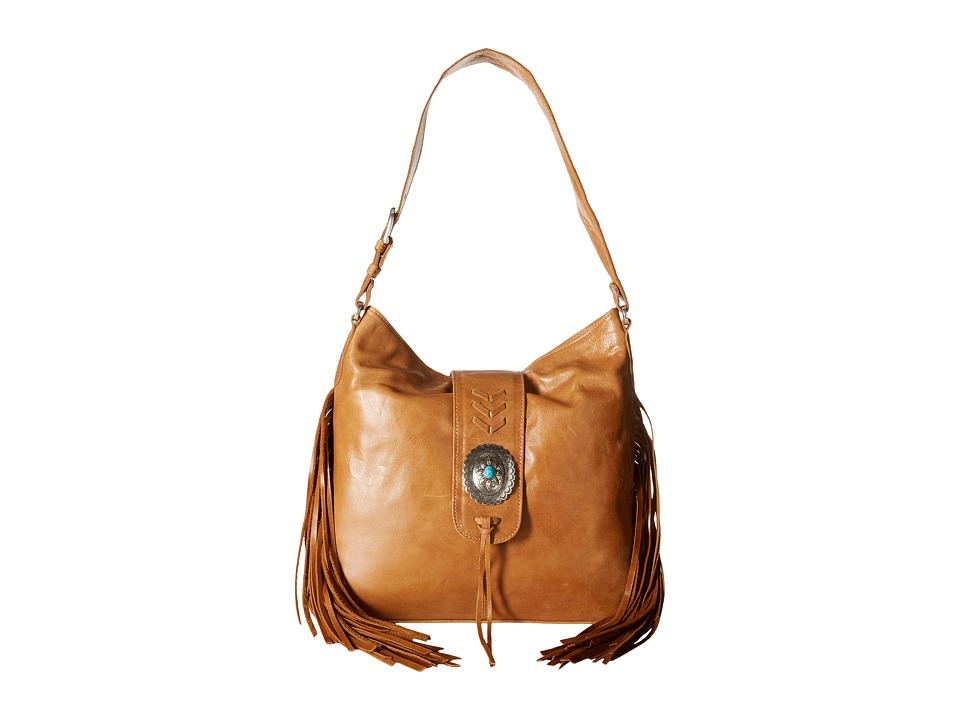 American West - Seminole Soft Slouch Hobo (Deerskin) Hobo Handbags