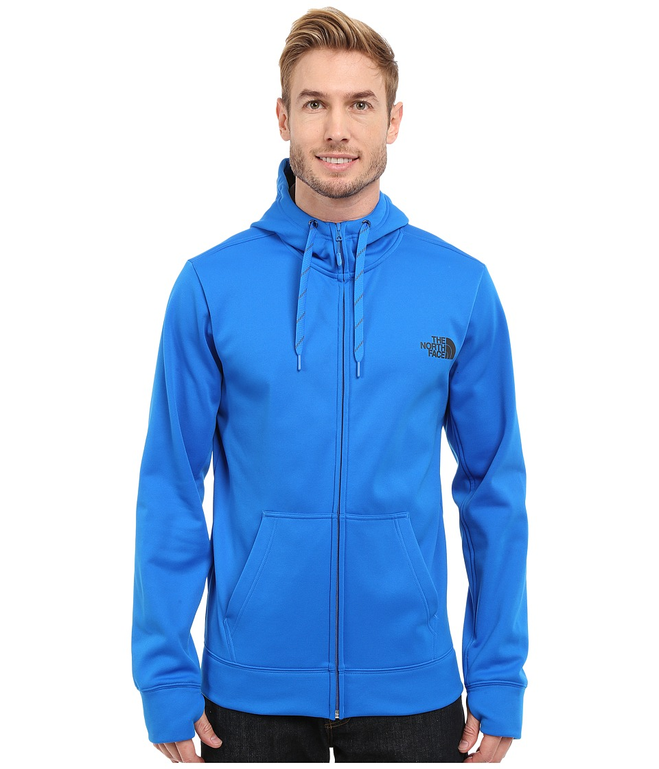 The North Face - Surgent LFC Full Zip Hoodie (Bomber Blue/Asphalt Grey) Men's Sweatshirt