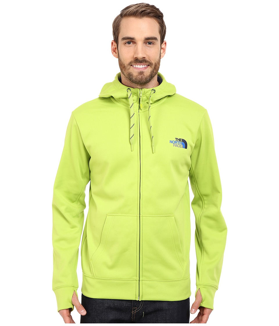 The North Face - Surgent LFC Full Zip Hoodie (Macaw Green/Cosmic Blue Multi) Men's Sweatshirt