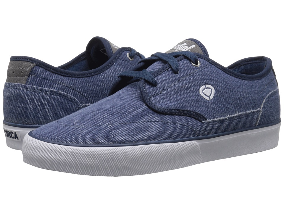 Circa - Essential (Washed Blue/Frost Gray) Men's Skate Shoes