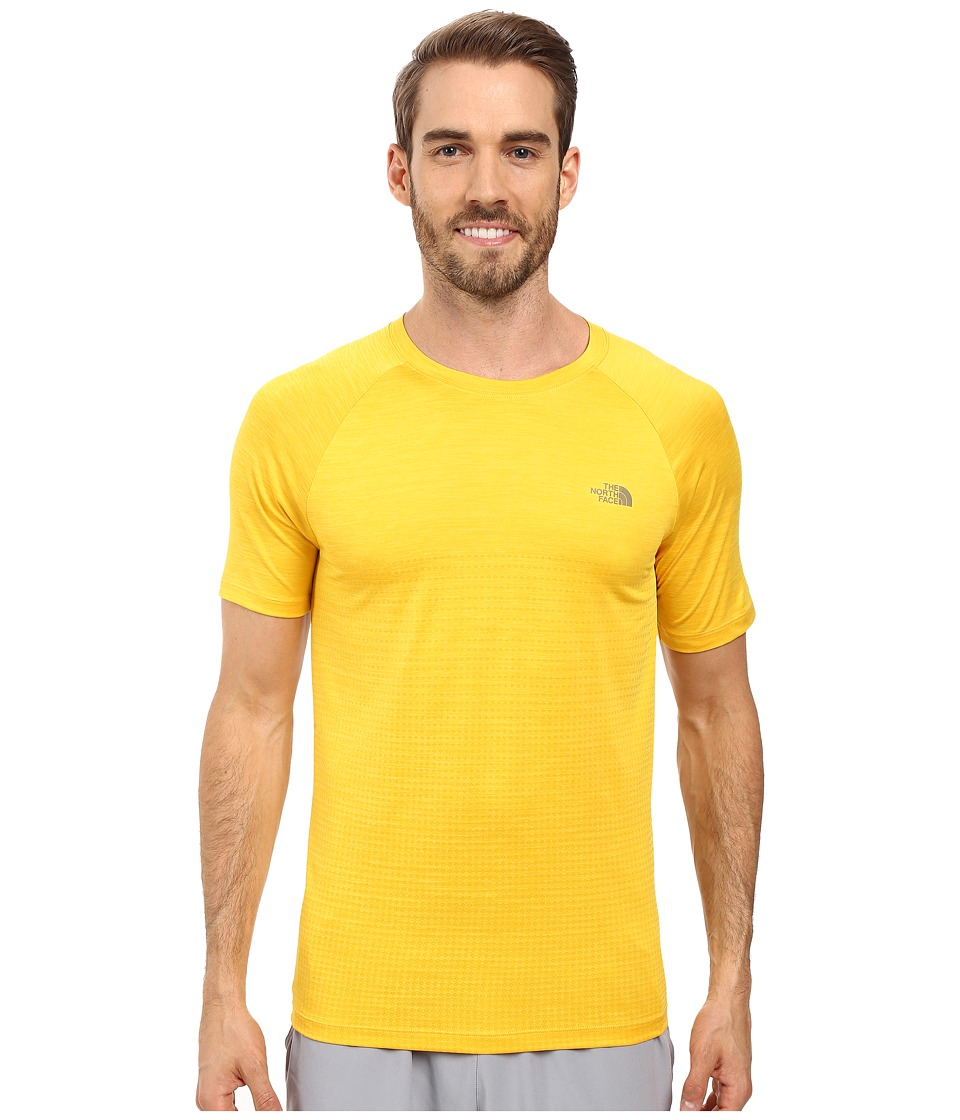 The North Face - Flight Seriestm Short Sleeve Shirt (Citrus Yellow (Prior Season)) Men's Short Sleeve Pullover