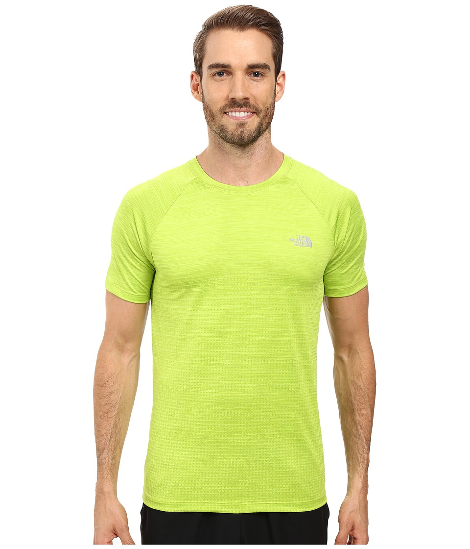 The North Face - Flight Series Short Sleeve Shirt (Macaw Green) Men's Short Sleeve Pullover