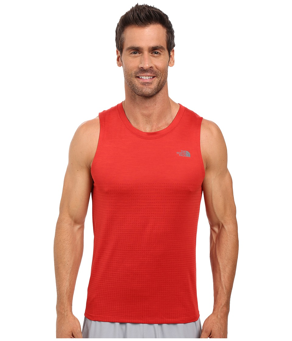 The North Face - Flight Series Sleeveless Shirt (Pompeian Red) Men's Sleeveless