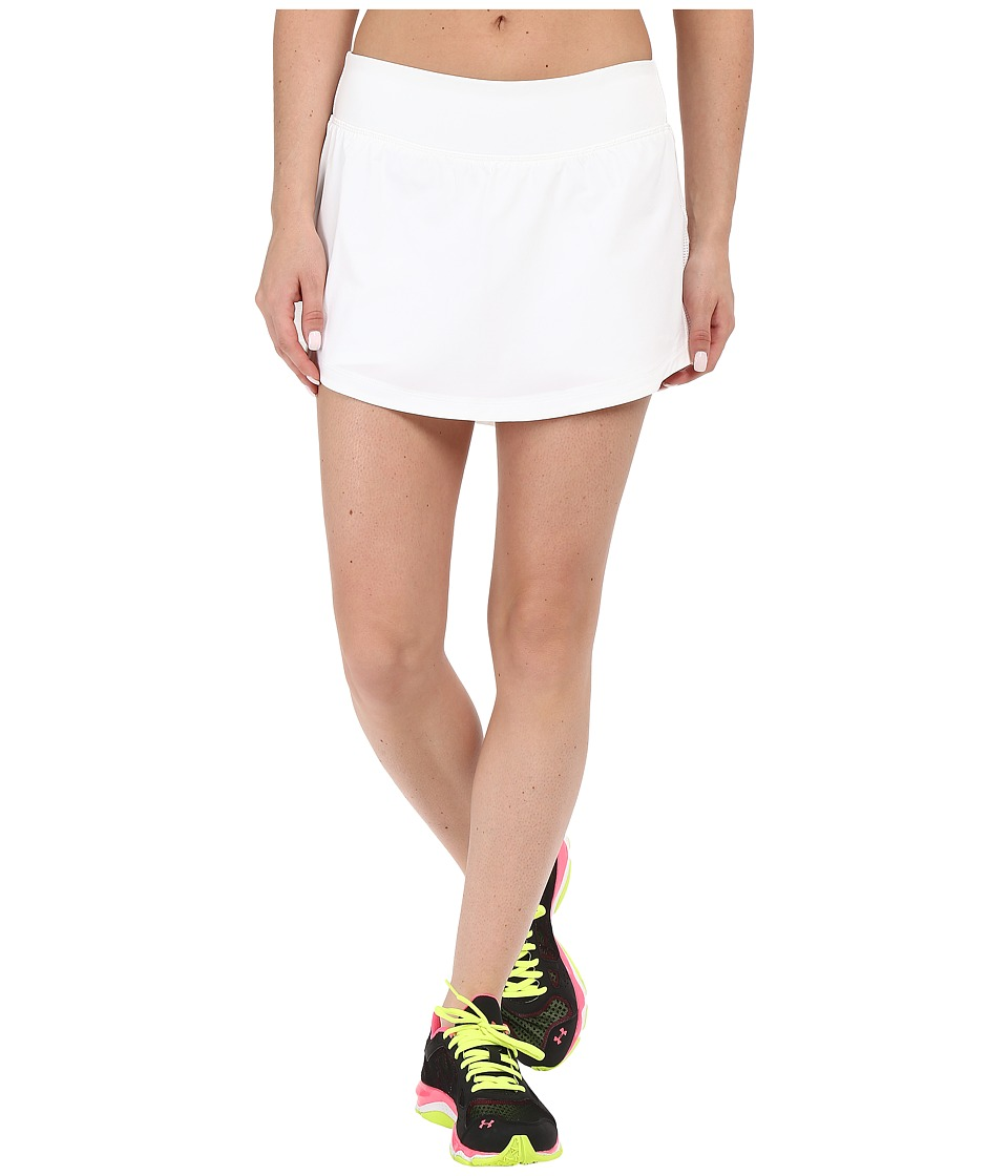 Under Armour - UA Stretch Woven Run Skort (White/White/Reflective) Women's Skort