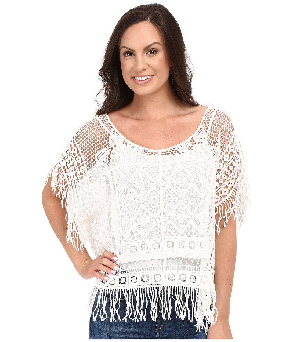 Ariat - Tallulah Poncho (Snow White) Women's Clothing