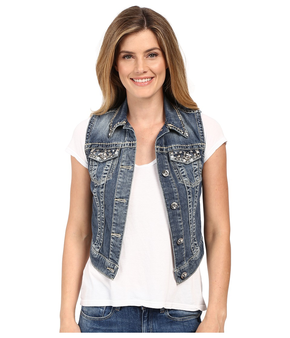Ariat Dylan Denim Vest in Silverlake (Silverlake) Women's...