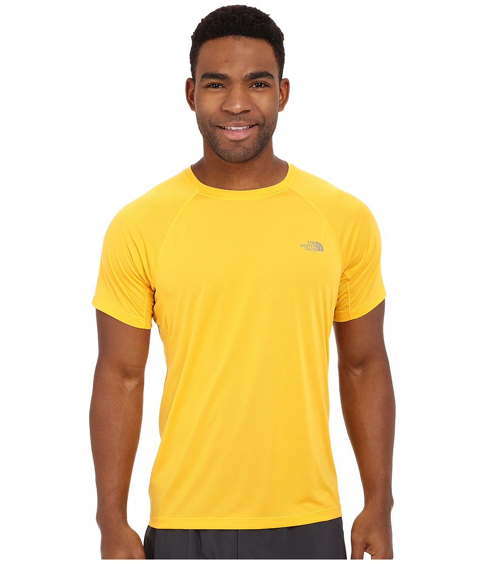 The North Face - Better Than Naked Short Sleeve Shirt (Citrus Yellow) Men's Short Sleeve Pullover