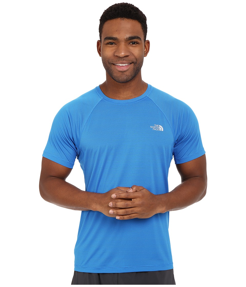 The North Face - Better Than Naked Short Sleeve Shirt (Bomber Blue) Men's Short Sleeve Pullover