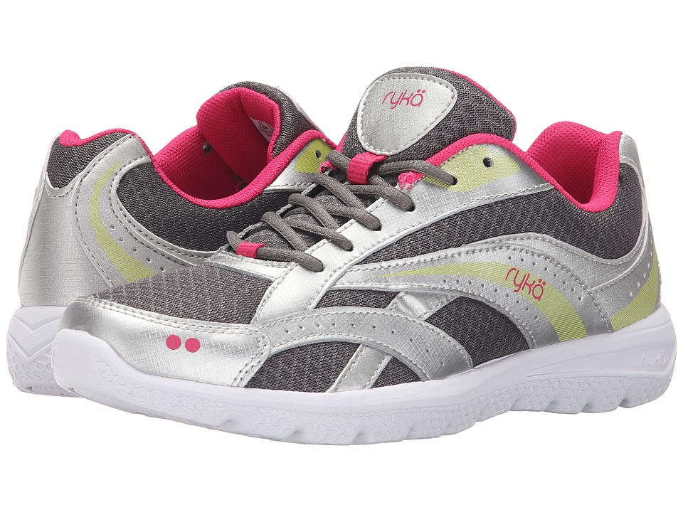 Ryka Absolute SMW (Grey/Silver/Lime) Women