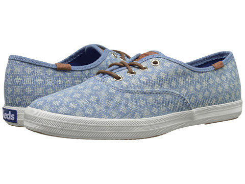 Keds - Champion Diamond Dot (Blue) Women