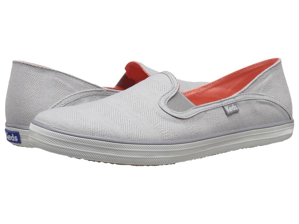 Keds - Crashback Chambray Stripe (Grey) Women's Shoes