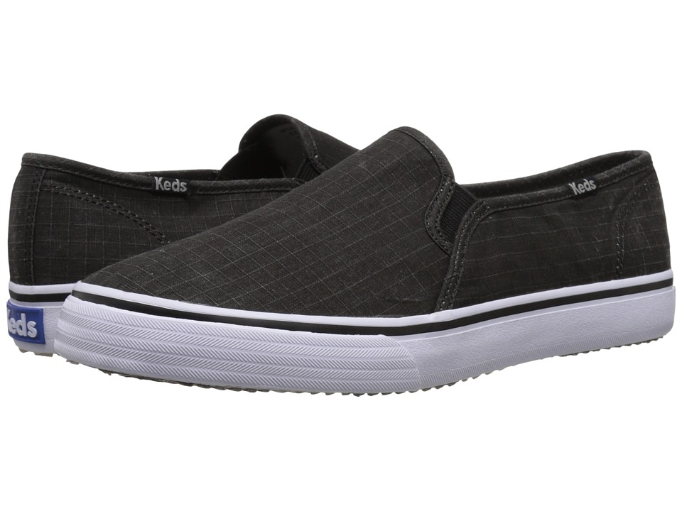 Keds - Double Decker Ripstop (Black) Women