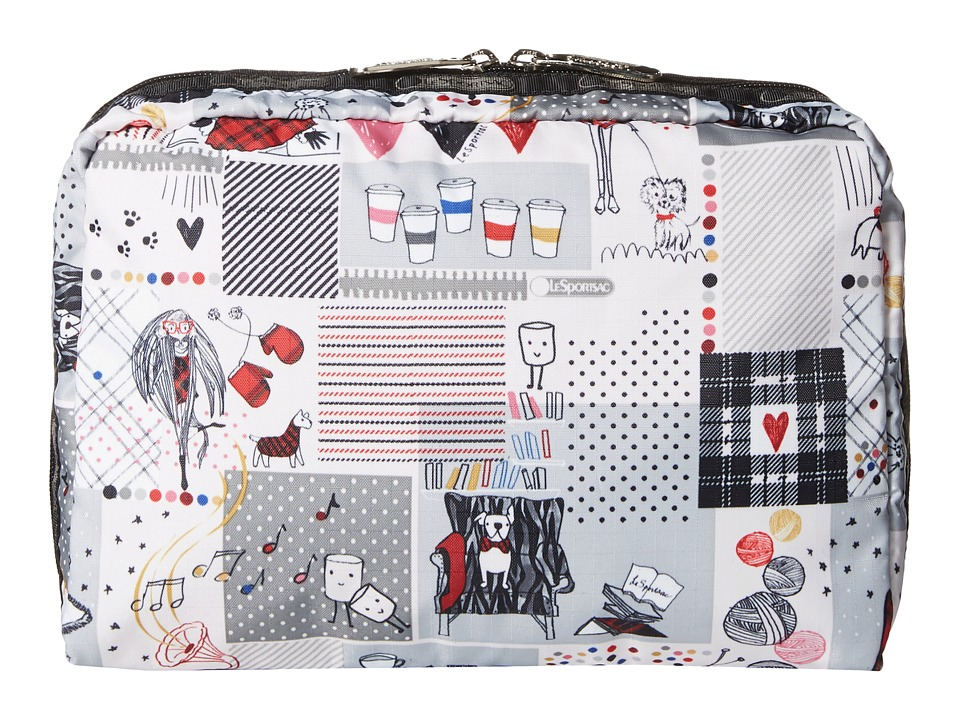 LeSportsac Luggage - Extra Large Rectangular Cosmetic (Warm Wishes) Cosmetic Case
