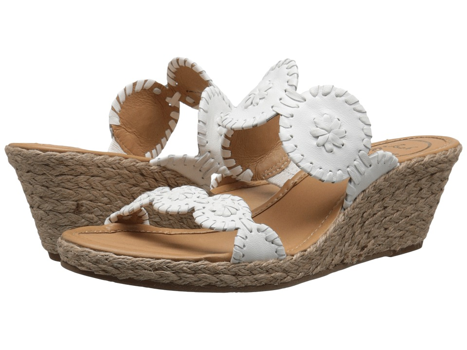 Jack Rogers Shelby (White) Women