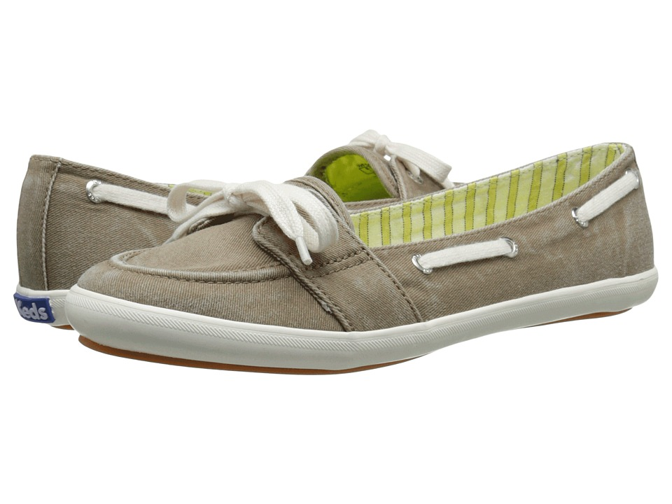 Keds - Teacup Boat (Olive) Women's Shoes