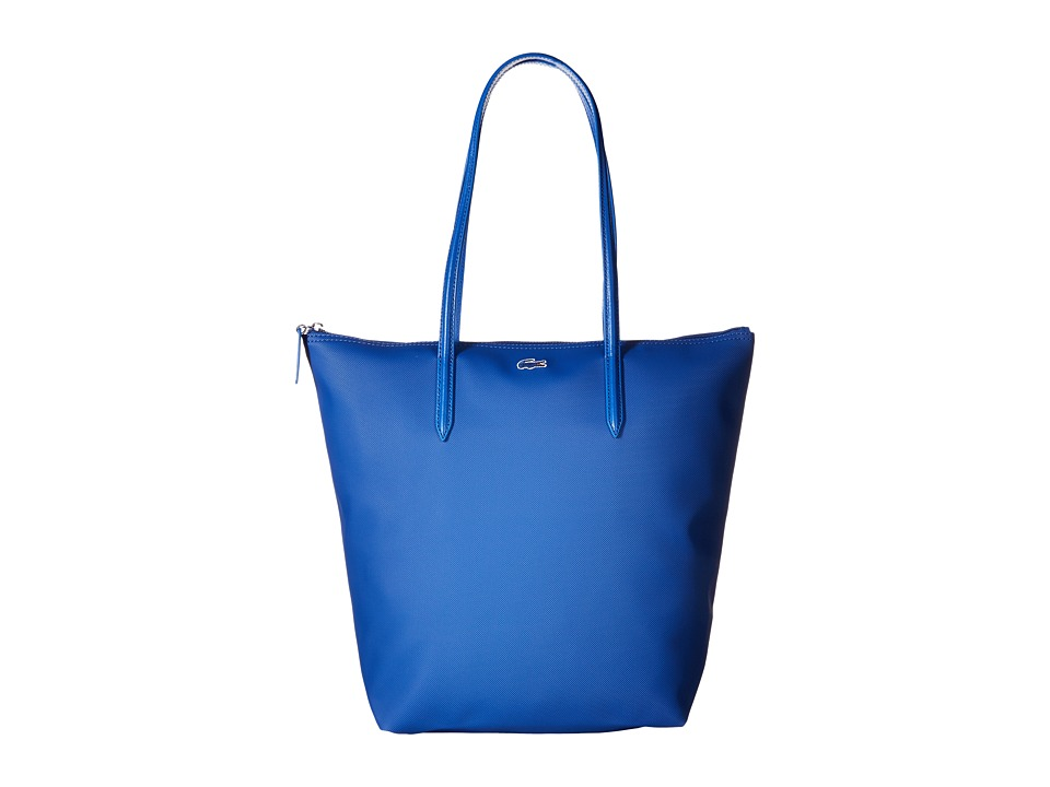 Lacoste - L.12.12 Concept M1 Vertical Tote Bag (True Blue) Tote Handbags