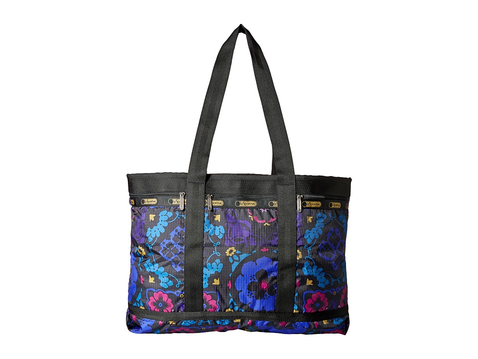 LeSportsac Luggage - Travel Tote (Midnight Flower Patch) Bags
