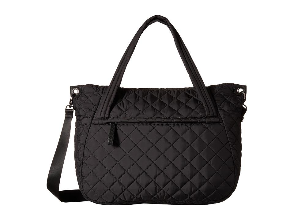 Madden Girl - Fitt Nylon Tote (Black) Tote Handbags