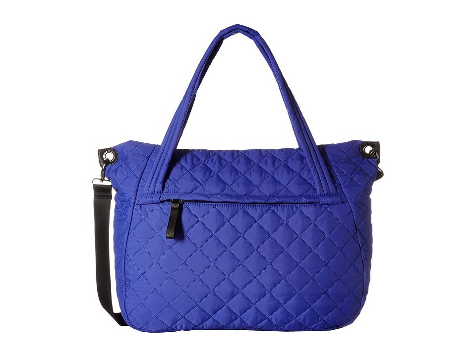 Madden Girl - Fitt Nylon Tote (Cobalt) Tote Handbags